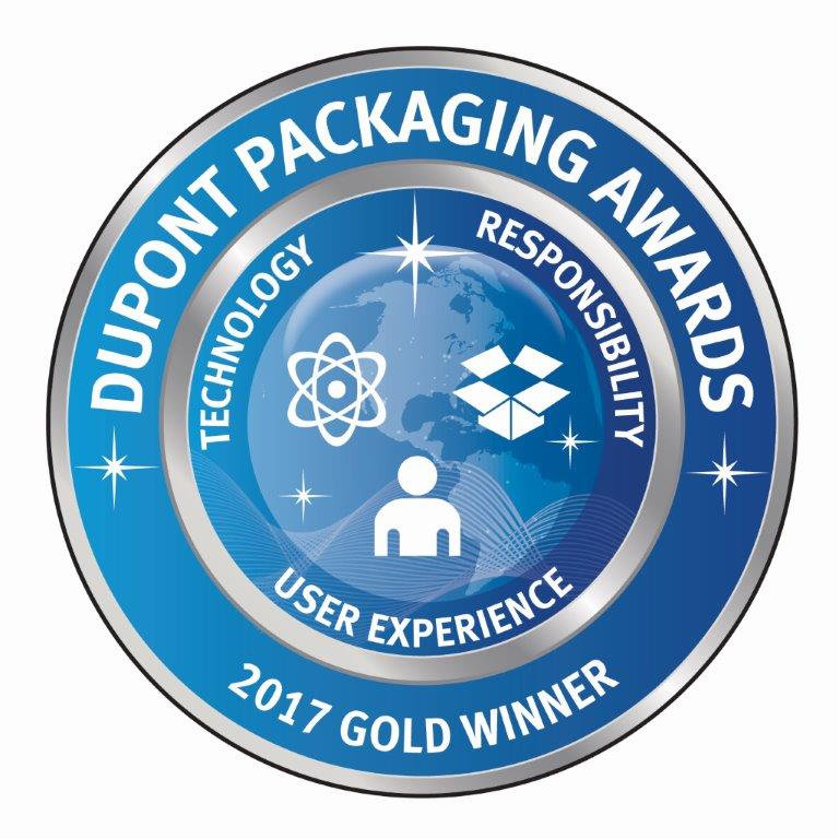 Dupont Packaging Awards - Gold Winner