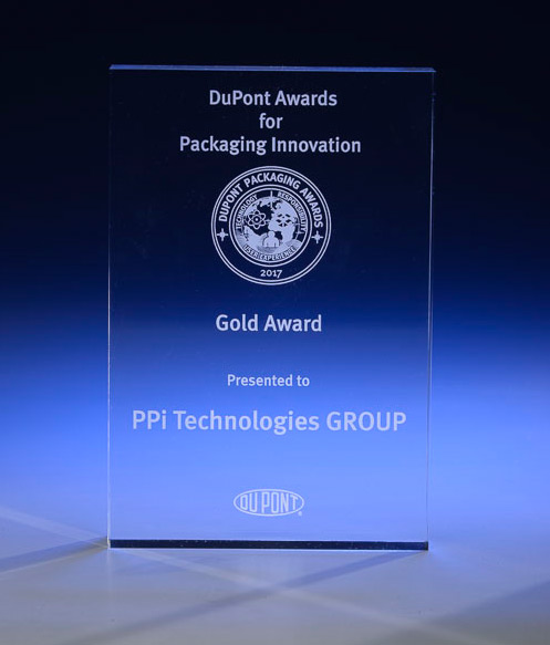 Gold Award-Dupont Packaging Innovation