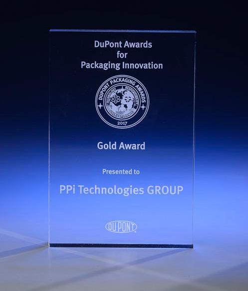 Gold Award-Dupont Packaging Innovation