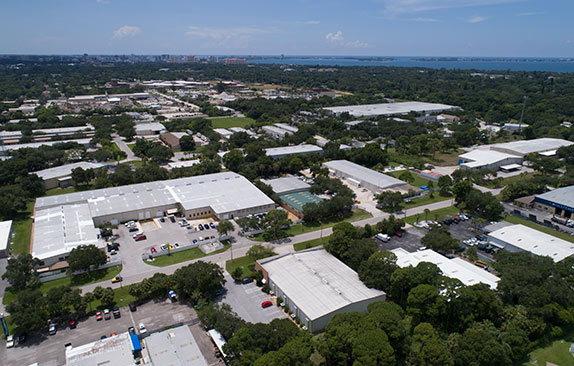 Aerial of Sarasota and PPiT